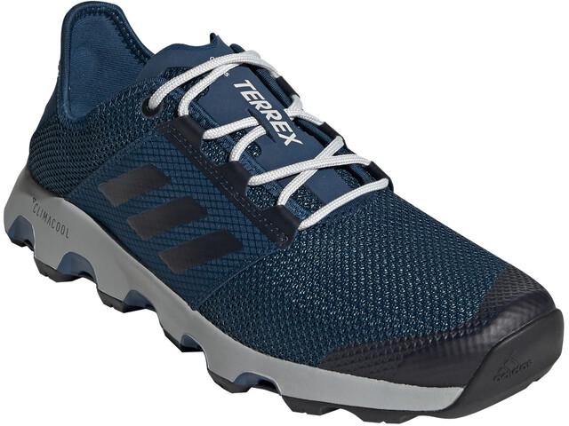 new style e5d12 ec986 adidas TERREX ClimaCool Voyager Shoes Men legend marine/ash grey/grey two